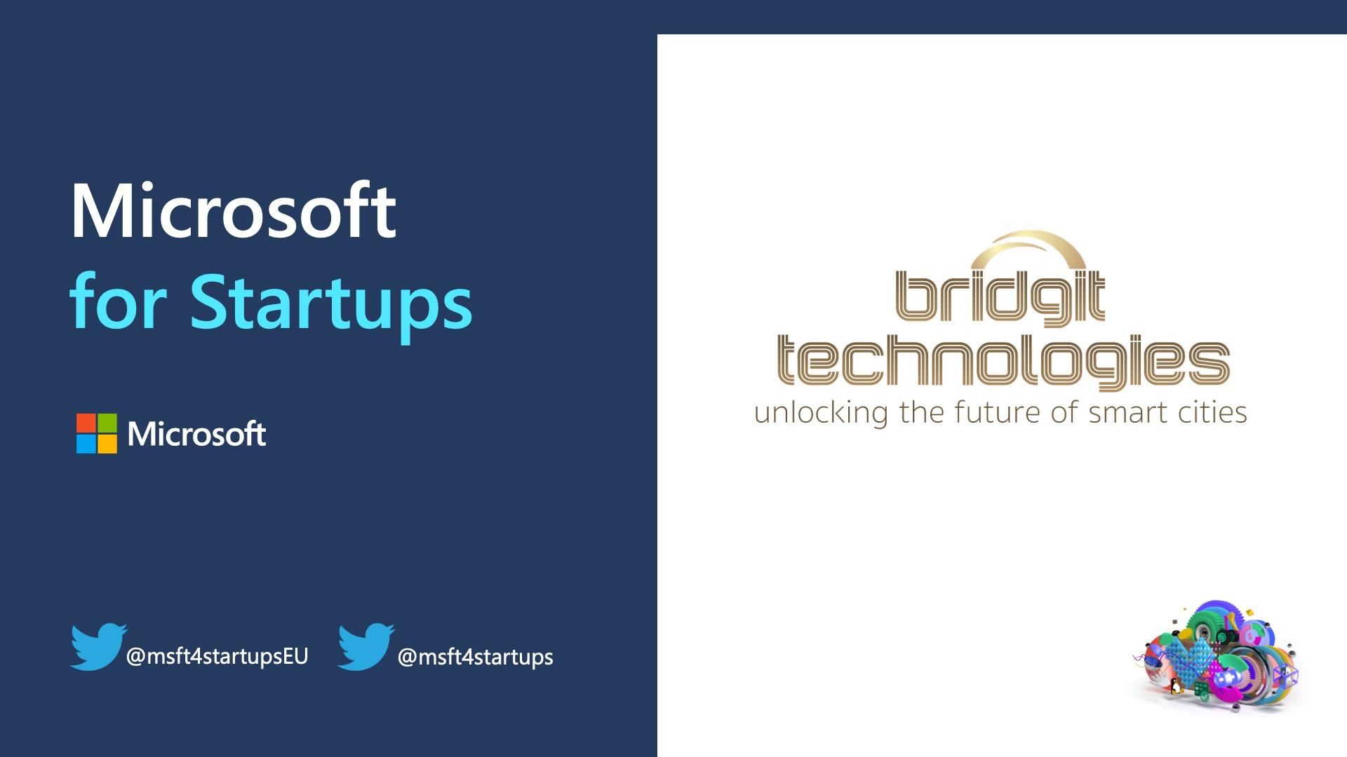 Bridgit Technologies joins the Microsoft for startups program